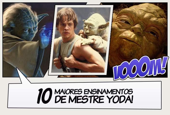 Aparador Sala De Jantar Moderno ~ 10 maiores ensinamentos de Mestre Yoda! Legi u00e3o dos Heróis