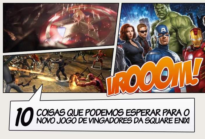 Vingadores - Revelado possível motivo pelo qual o anúncio do jogo ... 53ed3d2eb6674