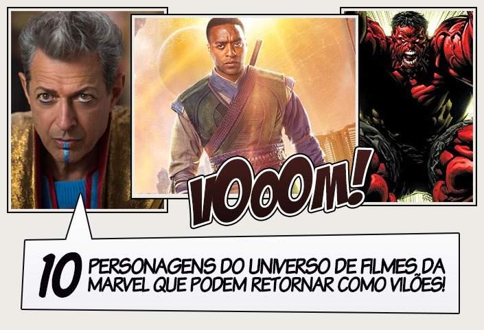 68260338879 10 personagens do universo de filmes da Marvel que podem retornar como  vilões!