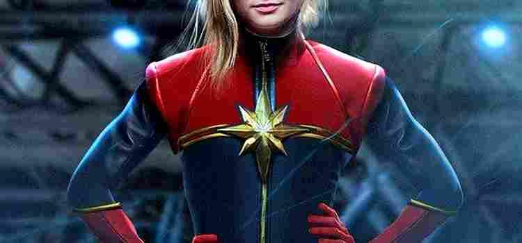 Capa - Capitã Marvel – Finalmente foi revelado quem interpretará a heroína!