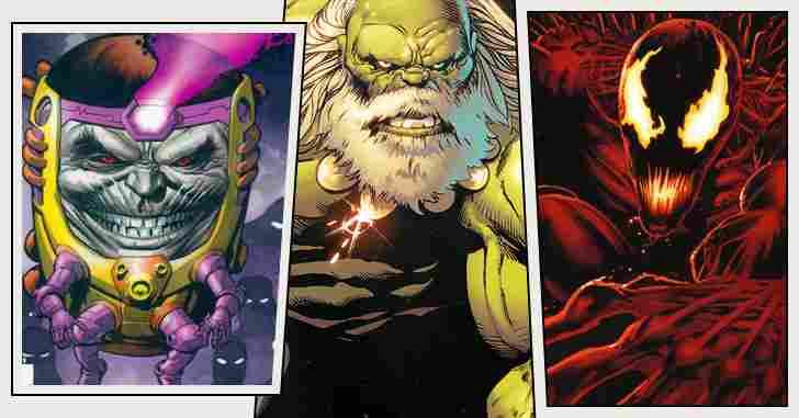 Capa - 10 vilões da Marvel que provavelmente nunca veremos nos cinemas!