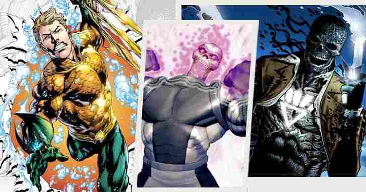 Capa - 10 personagens da DC Comics que foram inspirados em personagens da Marvel!