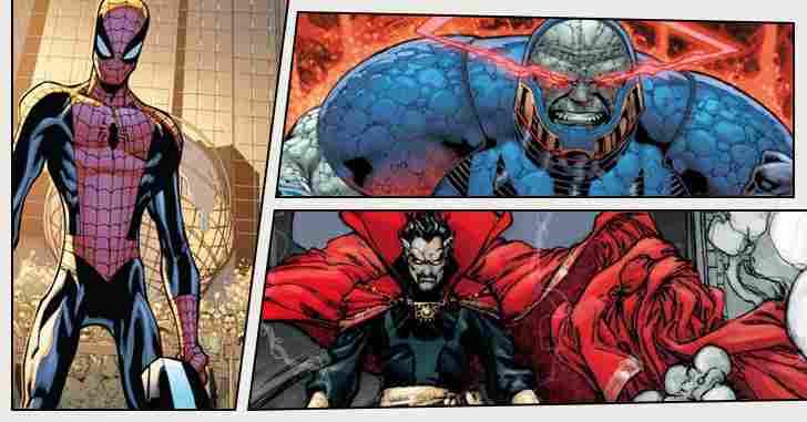 Capa - 10 Mortes humilhantes dos quadrinhos!