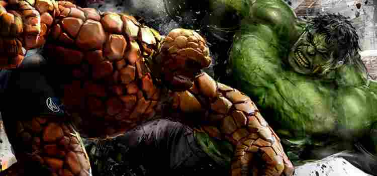 Capa - Stan Lee revela quem venceria o embate entre Hulk vs O Coisa!