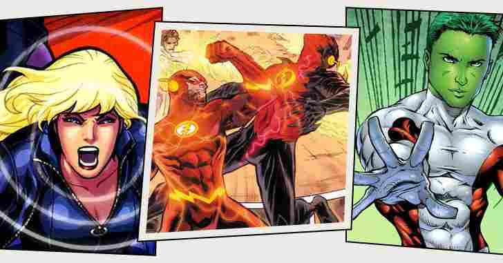 Capa - Os 10 meta-humanos mais poderosos da DC Comics!