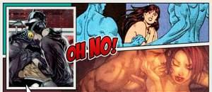 Capa - Os 10 momentos sexuais mais estranhos dos quadrinhos!