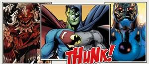 Capa - 10 vilões da DC Comics que são mais poderosos que o Superman!
