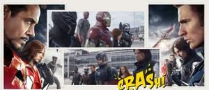 Capa - Capitão América: Guerra Civil ? Espetáculo e Tragédia!