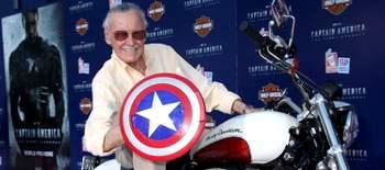 Capa - Stan Lee comenta o que achou da grande revelação do Capitão América!