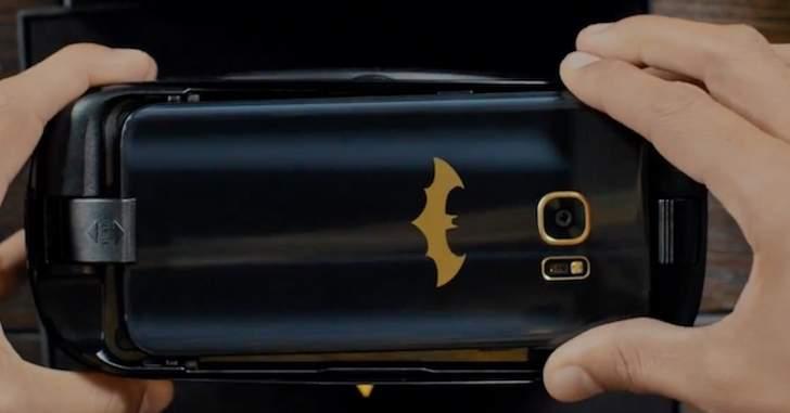 Samsung revela oficialmente o Galaxy S7 do Batman! - Legião dos Heróis
