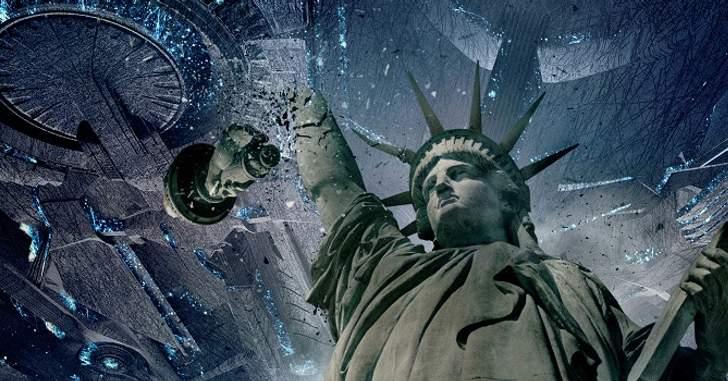 Independence Day: O Ressurgimento - Monumentos são destruídos em novas imagens do filme! - Legião dos Heróis