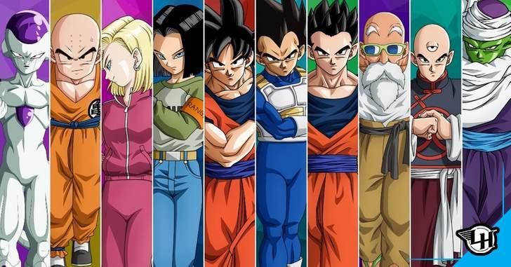 Dragon Ball - Ilustrador coloca TODOS os personagens do ...
