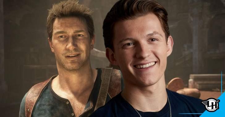 Uncharted: Tom Holland mostra mudança de visual para viver Nathan Drake no filme – Legião dos Heróis