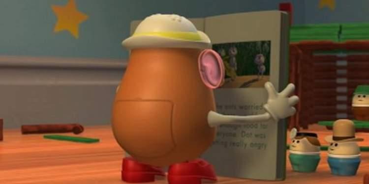 Toy Story 2 - Livro de histórias da Senhora Cabeça de Batata