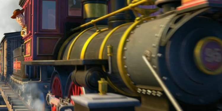 Toy Story 3 - O trem