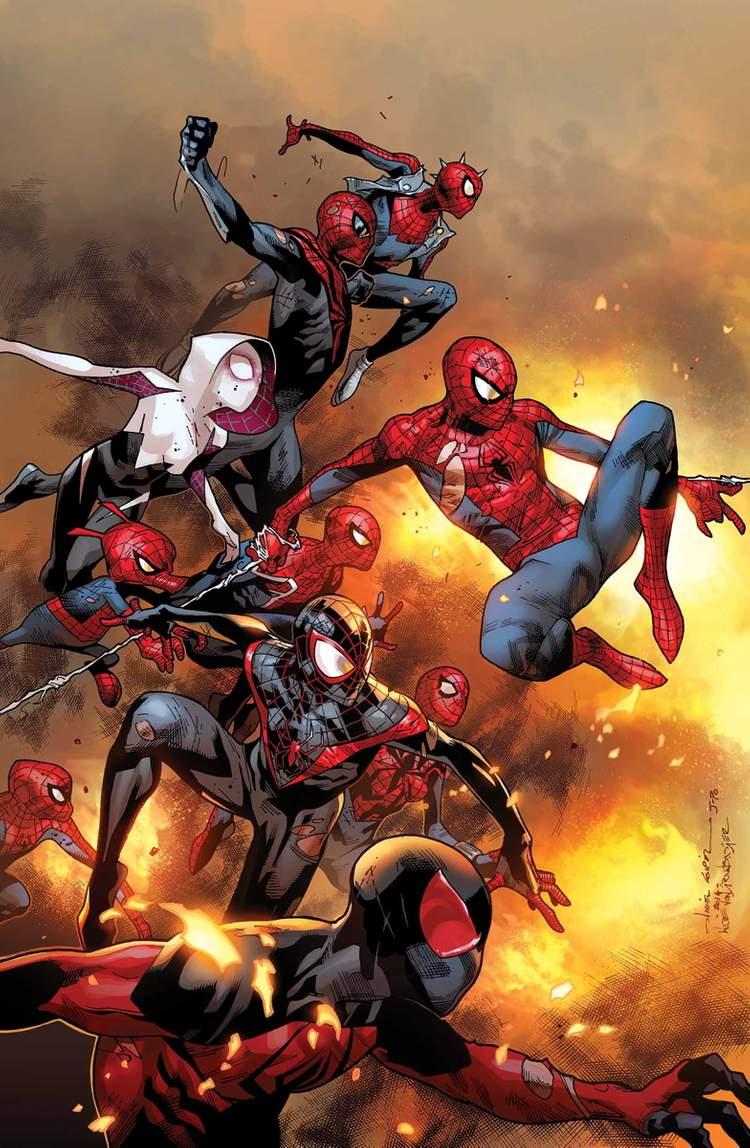 Menção honrosa: Spider-Verse