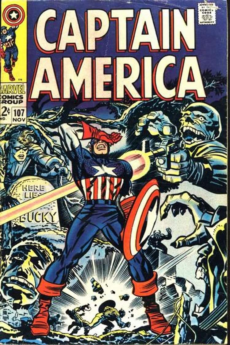 Capitão América #107
