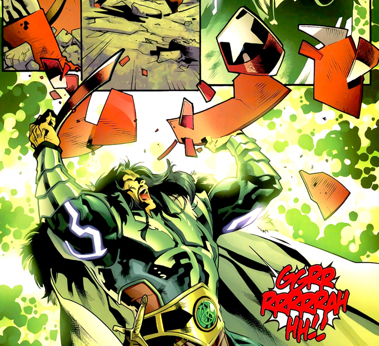 Uma ameaça ligada intimamente ao passado do herói... que surge do NADA!
