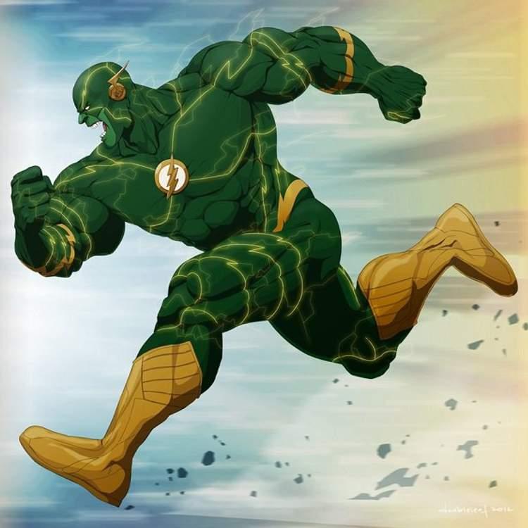 Hulk + Flash