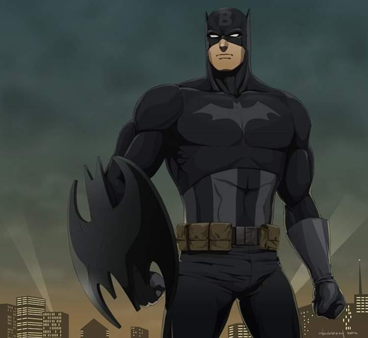Capitão América + Batman