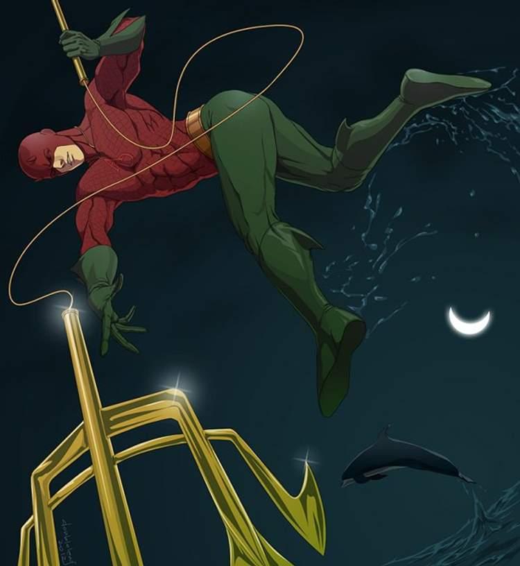 Demolidor + Aquaman