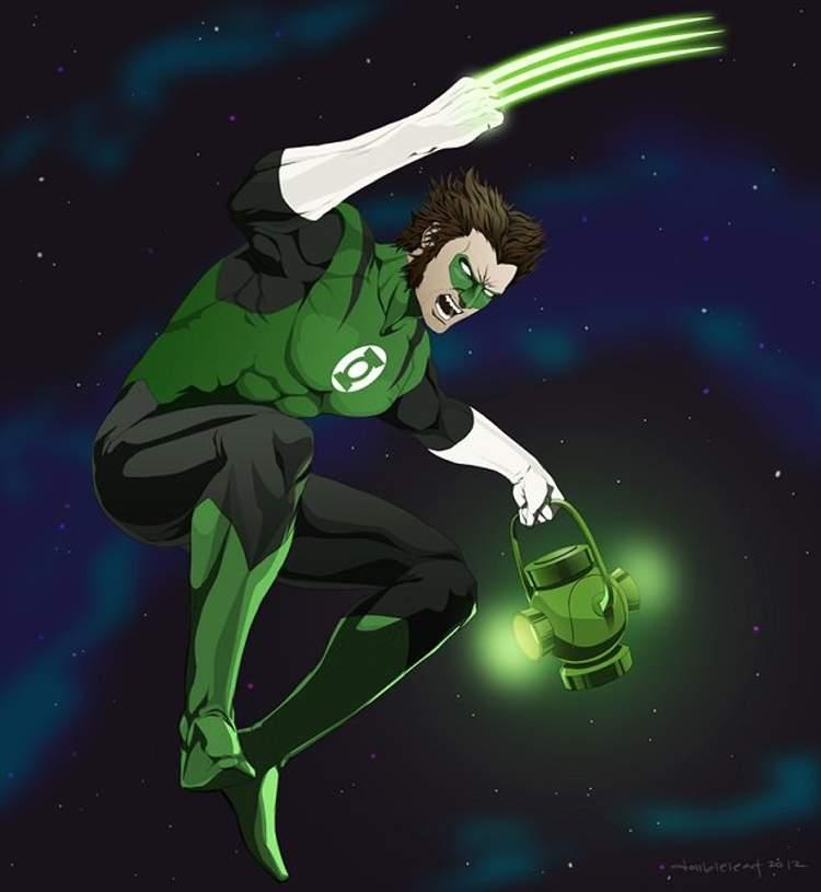 Wolverine + Lanterna Verde
