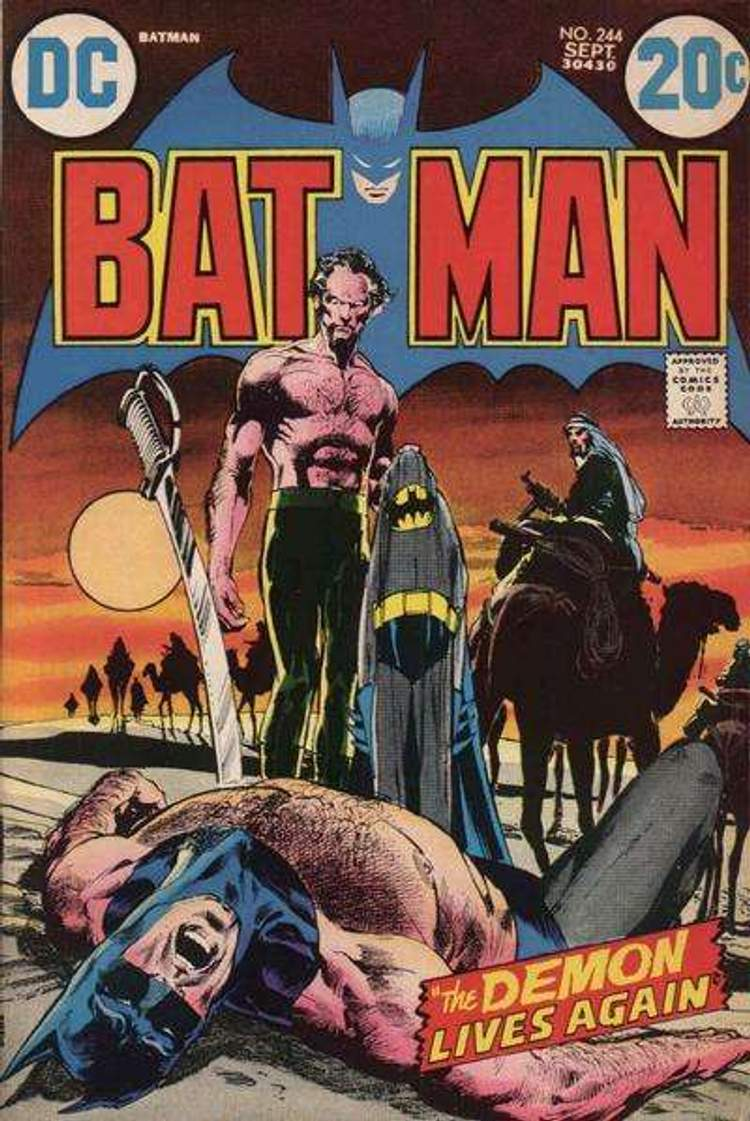 Batman contra Ra's al Ghul!