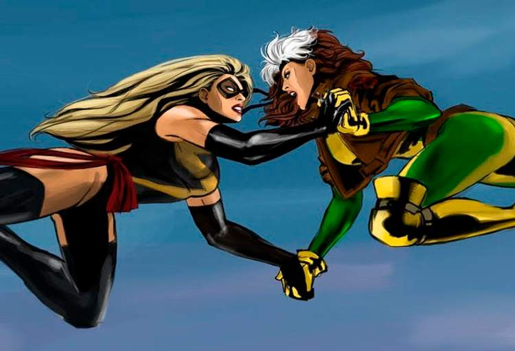 captain marvel rogue