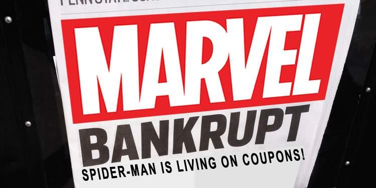Marvel quase faliu