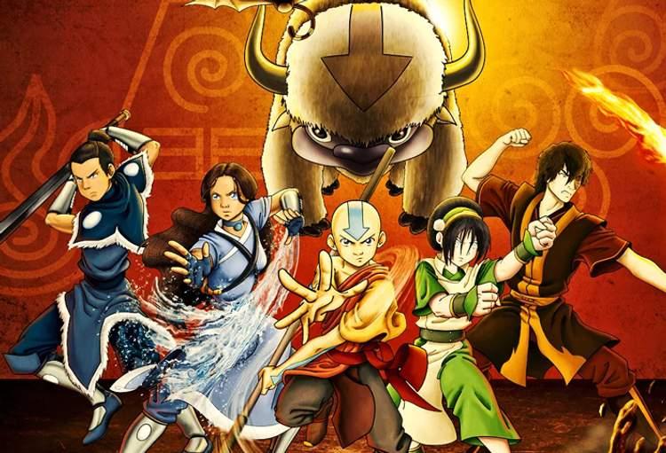 Resultado de imagem para avatar a lenda de aang
