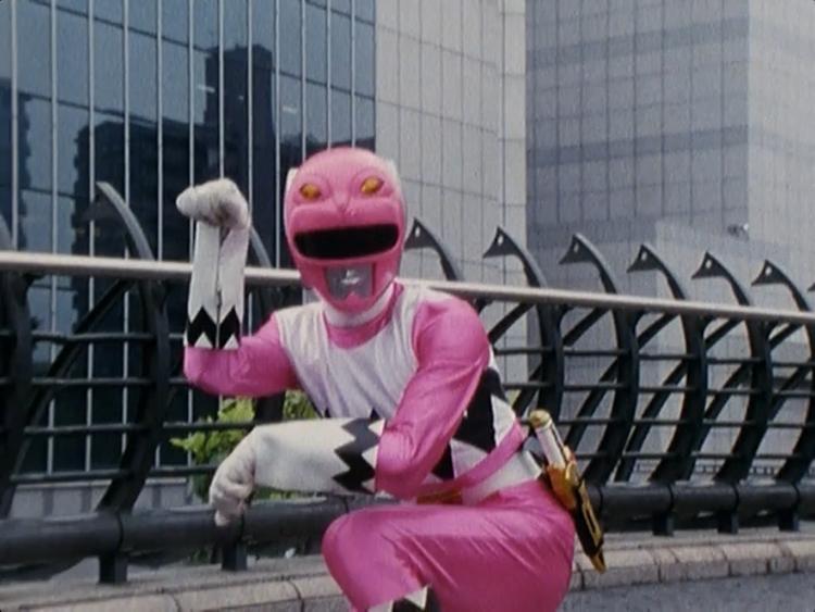 Resultado de imagem para meme power ranger rosa