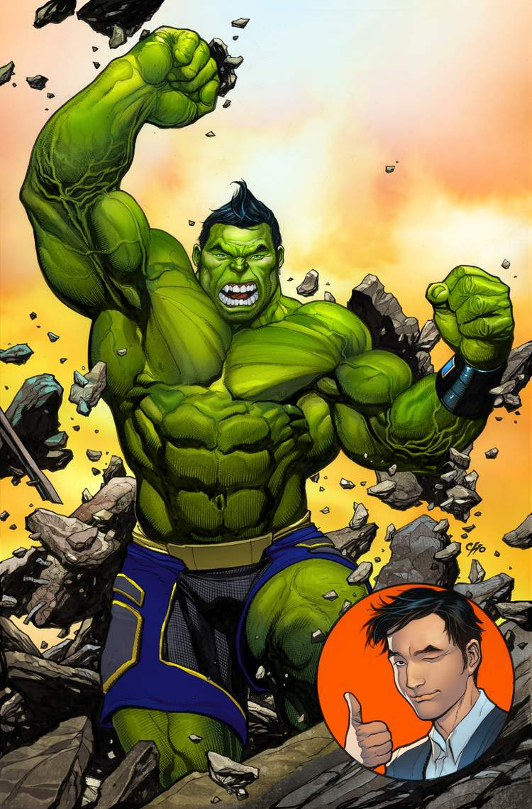 O novo e diferente Hulk