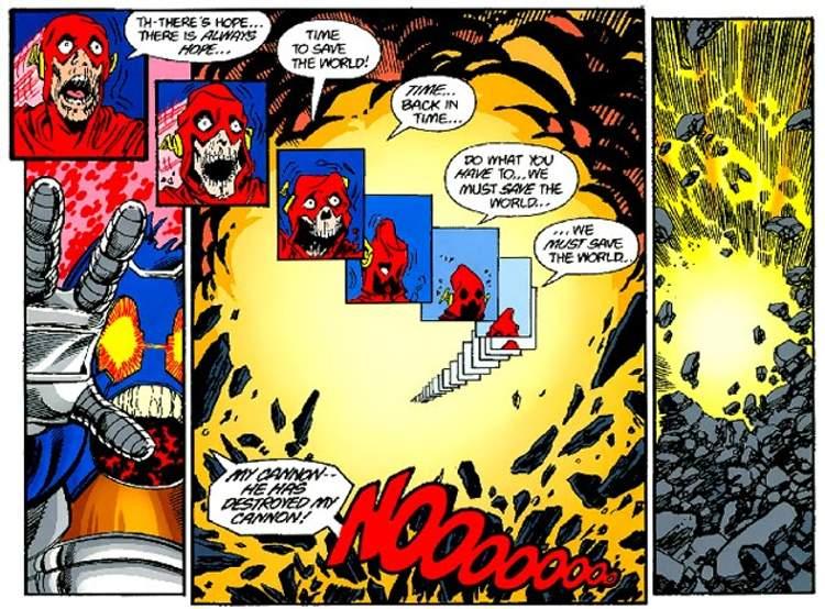 O sacrifício do Flash