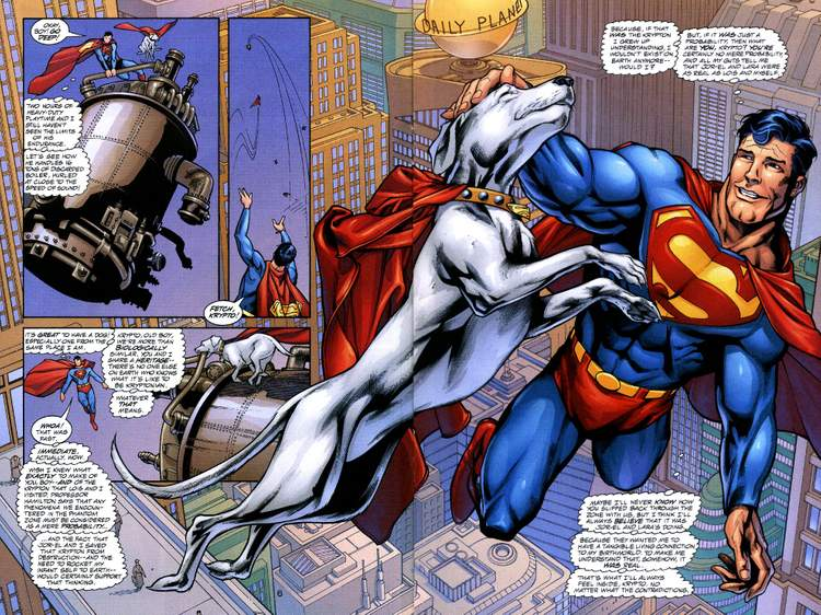 Superman e Krypto