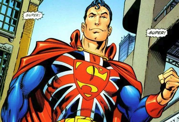 Superman: True Brit!