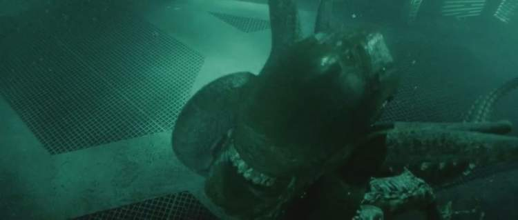 Perseguição Subaquática (Alien - A ressurreição, 1997)