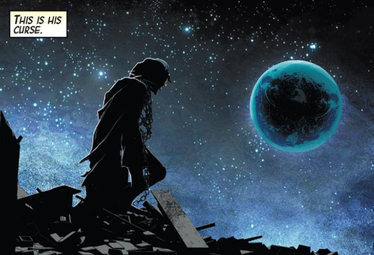 Nick Fury Sr. Agora vive na lua