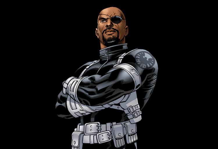 Nick Fury do universo ultimate é baseado em Samuel L. Jackson