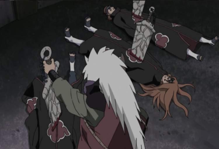 Jiraiya vs Pain