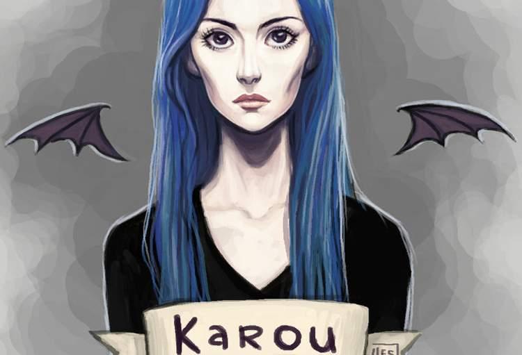 Karou não é indefesa