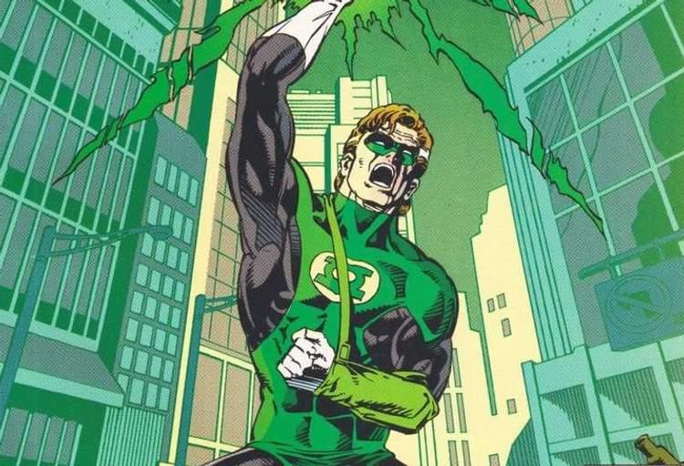Lanterna Verde Hal Jordan e a reconstrução de Coast City