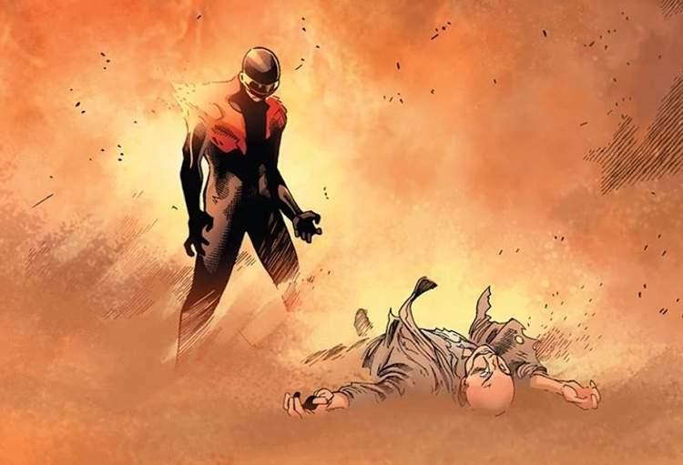 Ciclope e a morte de Charles Xavier