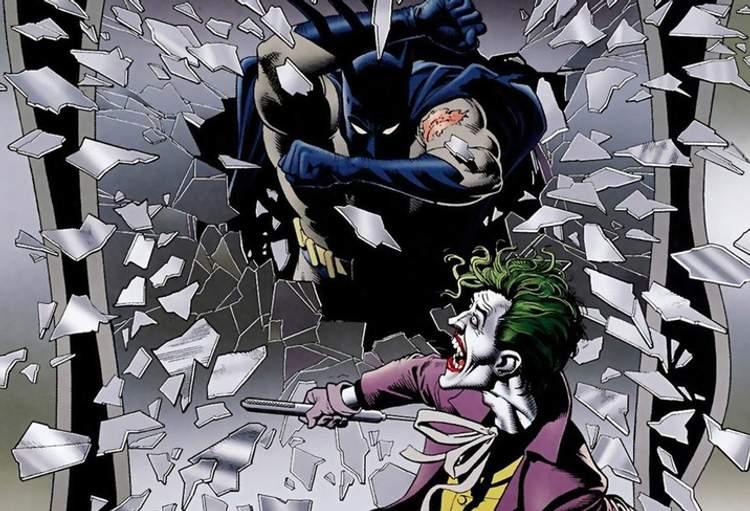 Batman por não ter matado o Coringa