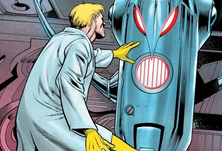 Hank Pym e a criação de Ultron