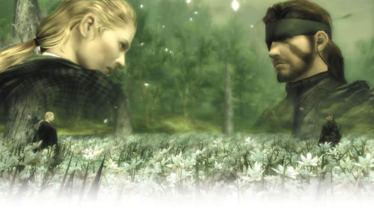 A luta contra Boss em MGS 3 Snake Eater