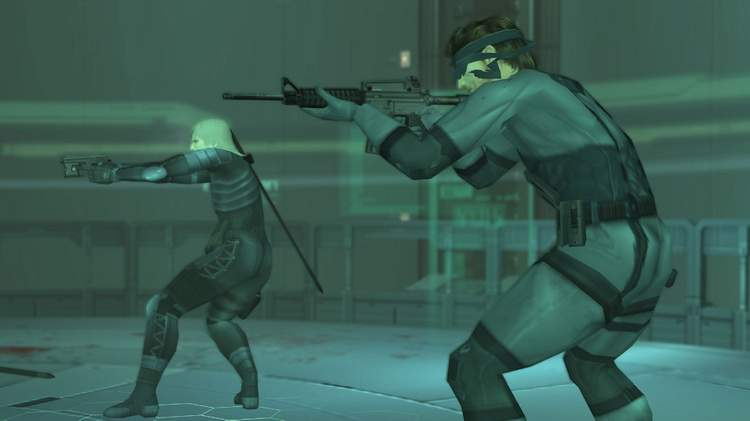 O retorno de Snake em Metal Gear Solid 2: Sons of Liberty