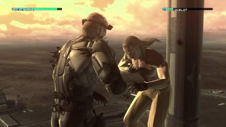 Solid Snake contra Liquid Ocelot