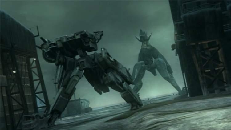 A sequência do corredor micro-ondas / Metal Gear REX Vs. Metal Gear REY - Metal Gear Solid 4 Guns of the Patriots