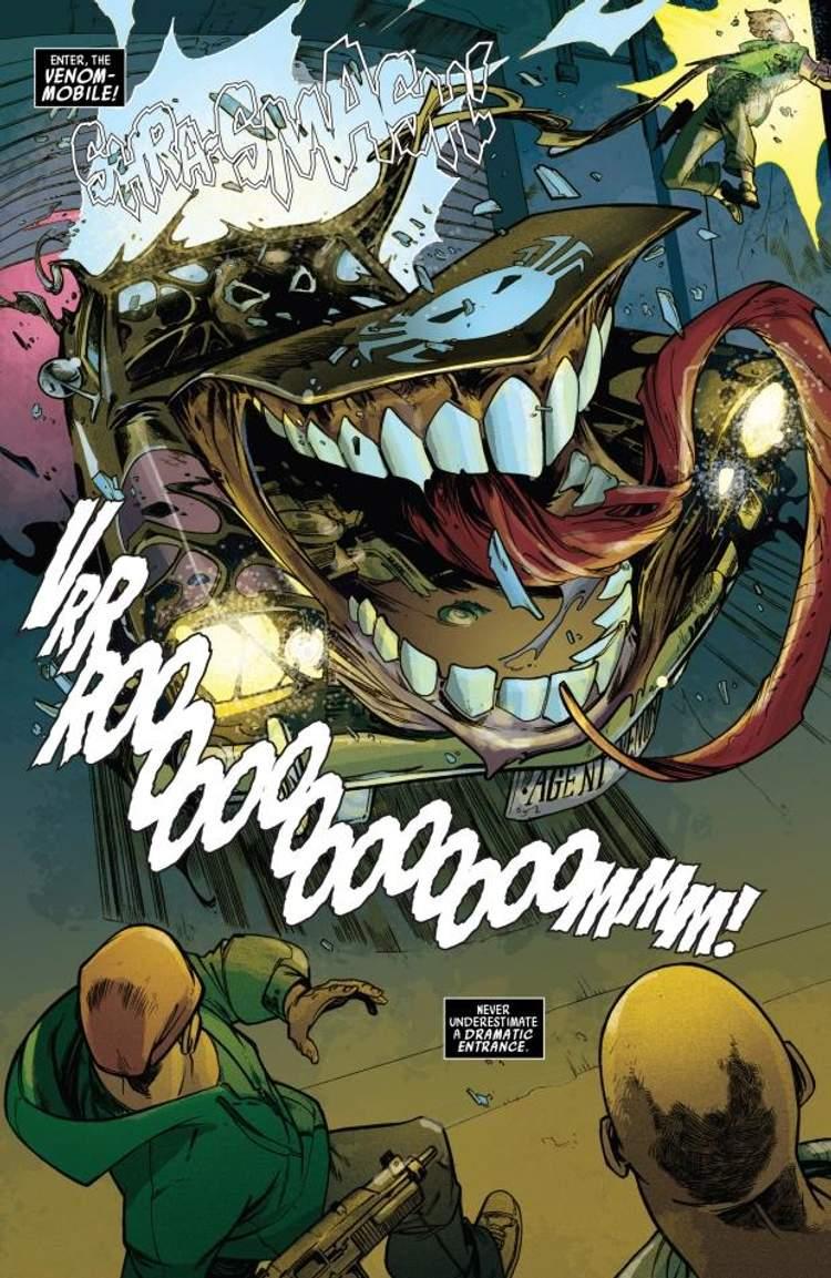 Virar o Venom-móvel