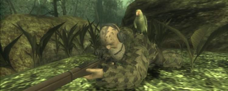 A luta contra The End em Metal Solid 3: Snake Eater